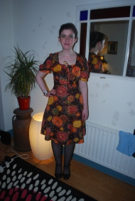 A Vintage Frock I passed on - it looks better on AnnMarie!